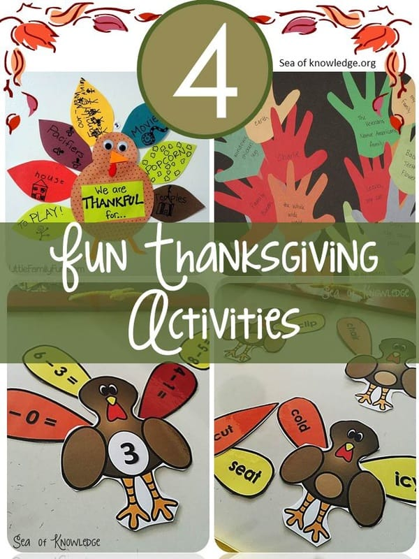 Turkey Literacy & Math Fun