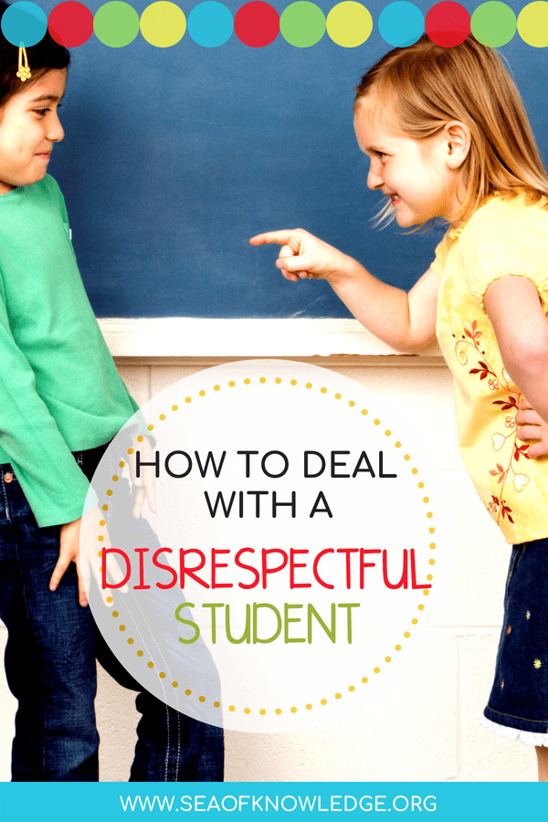 Deal with disrespectful students: In this clever live broadcast, Cult of Pedagogy explains how you could successfully deal with disrespectful students. Some students seem determined to disrupt class and push our buttons. What are the best ways to handle this? In this weekly Periscope broadcast, I answer one reader question about teaching. This was originally recorded on April 5, 2016. Skip to 3:38 to see the specific tips. #behaviormanagement #classroom #teachers
