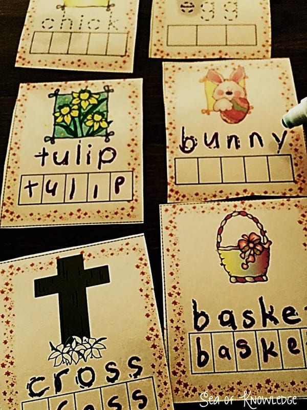 Spring Interactive Activities – Preschool Basic Skills