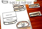 Sight Word Worksheets Free Build a Burger