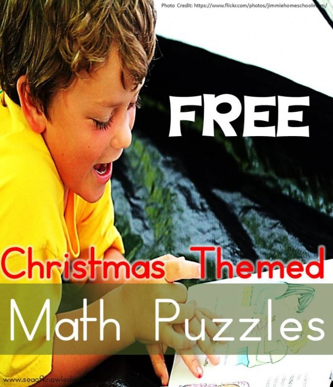 ChristmasMathPuzzlesFREE