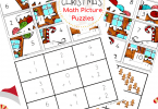 Free CHristmas Math Puzzles (2)