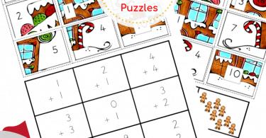 Free CHristmas Math Puzzles (2)