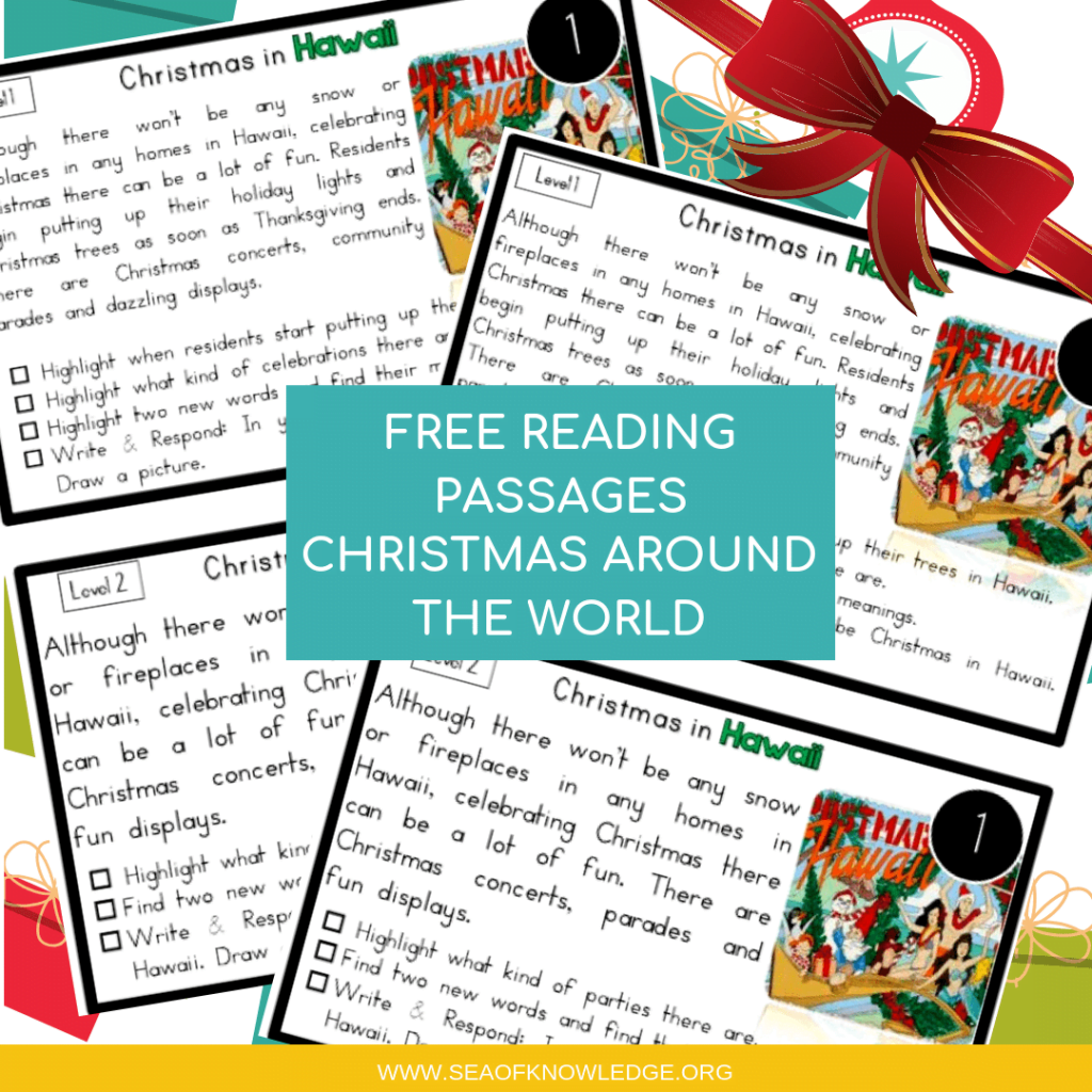 Reading Comprehension Passages Christmas (1)