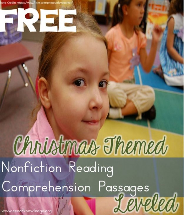 ChristmasReadingComprehension PAssagesFREE