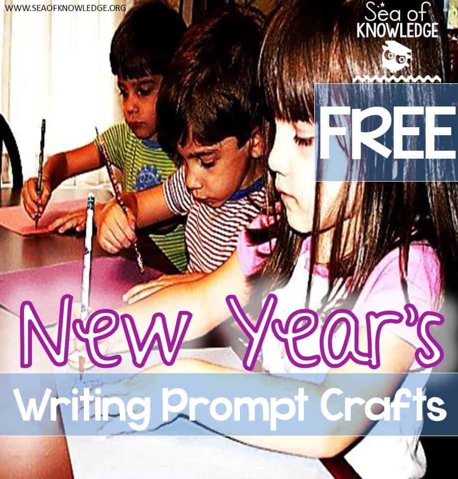Happy New Year!! Writing Craft Prompts to Get EVERY Student Writing! FREE