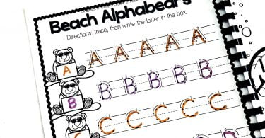 Summer Preschool Back to School Kindergarten Printables