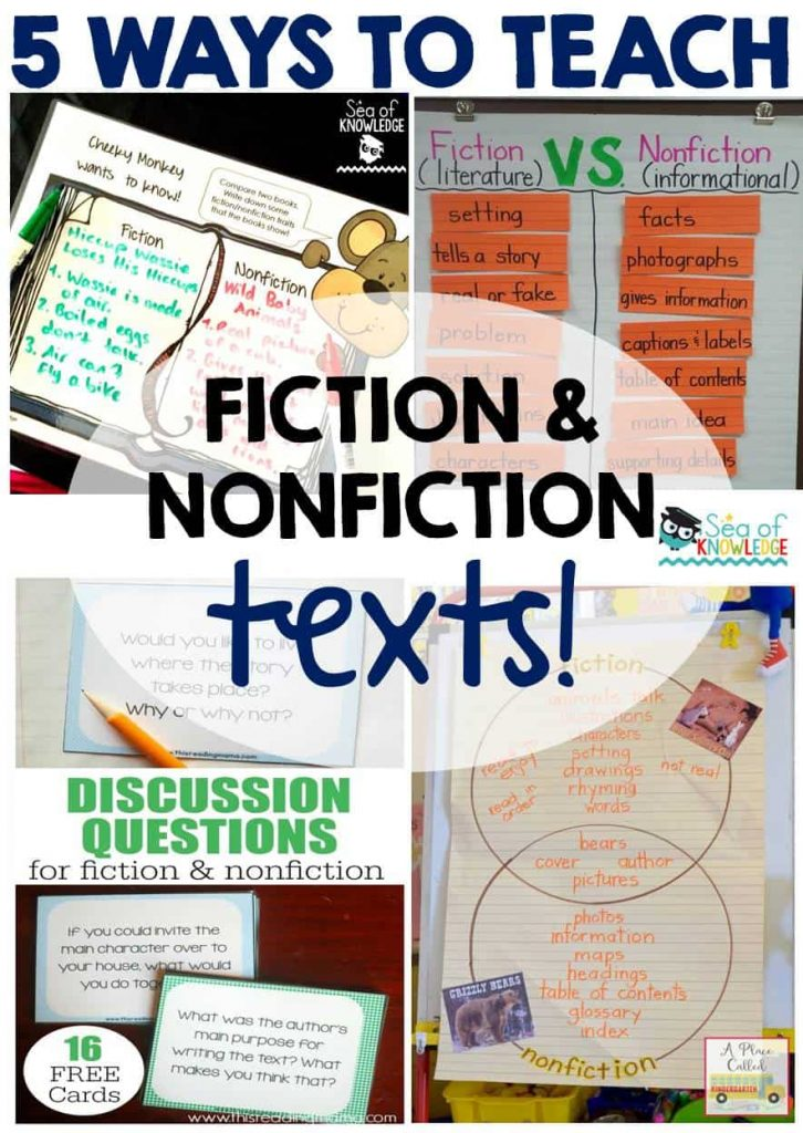 5 Ways to Teach Fiction & Nonfiction Texts