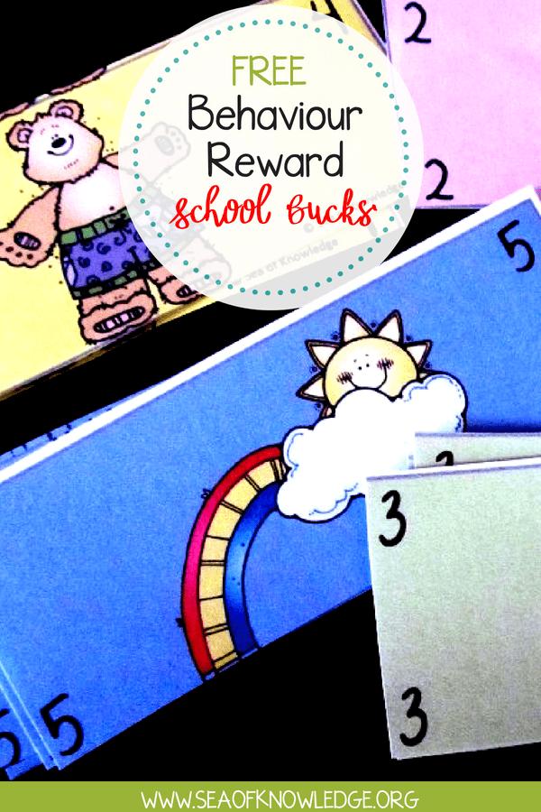 Positive Behaviour Reward Idea