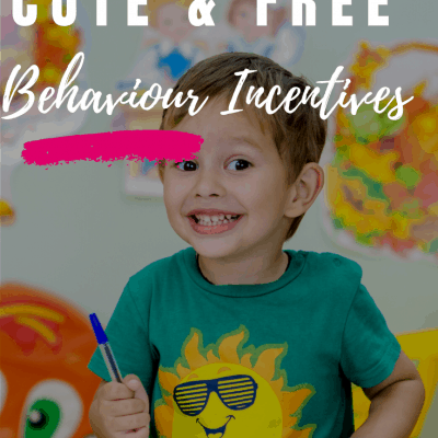 Positive Behavior Rewards Incentives Free and Super Easy to Use!