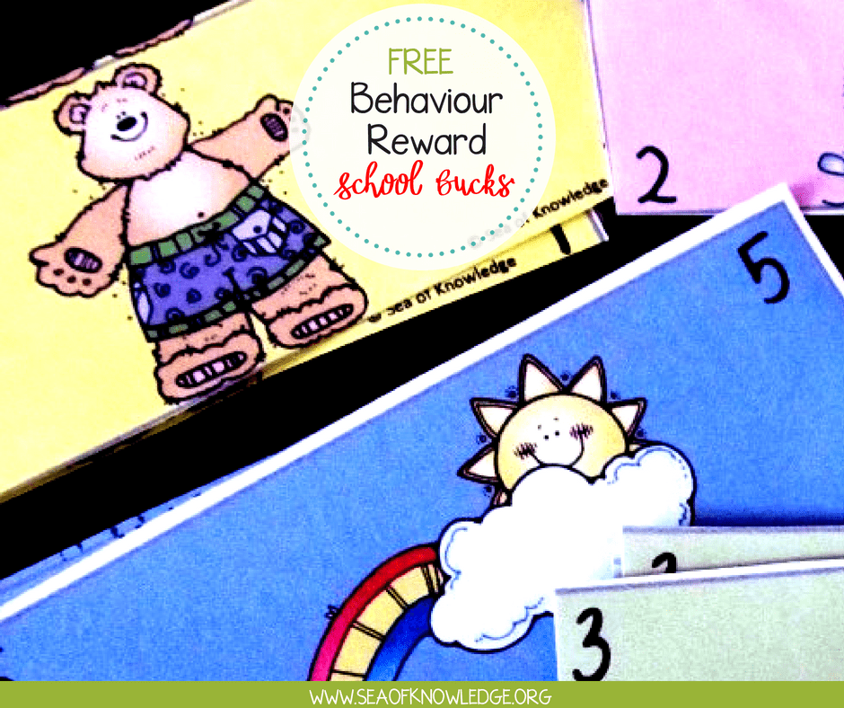 Positive Behaviour Reward Idea