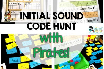 Sight Word Activity: Pirate Initial Sound Secret Code Hunt