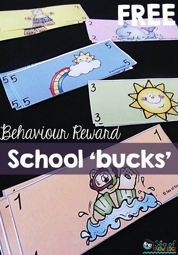 Behaviour school bucks free