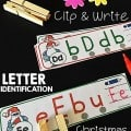 ChristmasinJulyFreeClip&WriteLetterIdentification