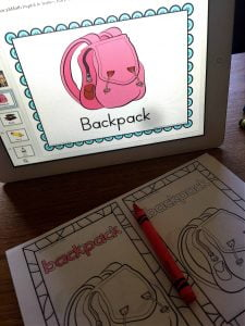 Back to School ESL ELL Digital Centers