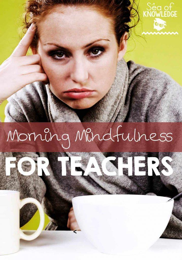 Mindfulness Morning Training for Teachers