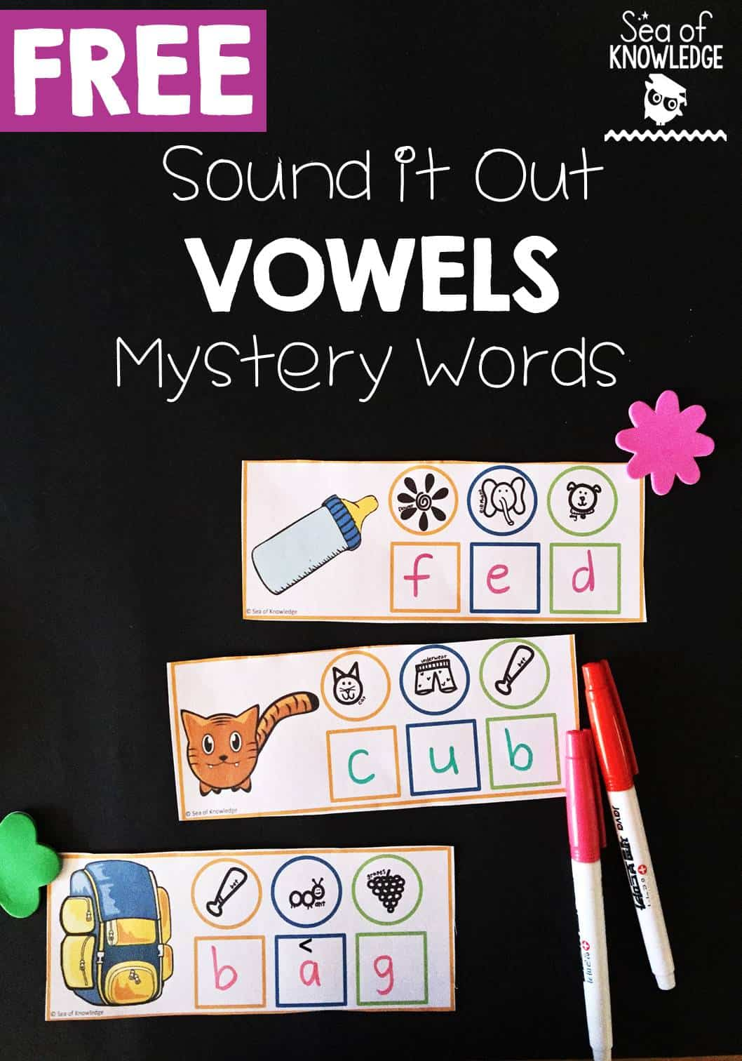 Vowel Sounds Writing Activity I Teach Linky