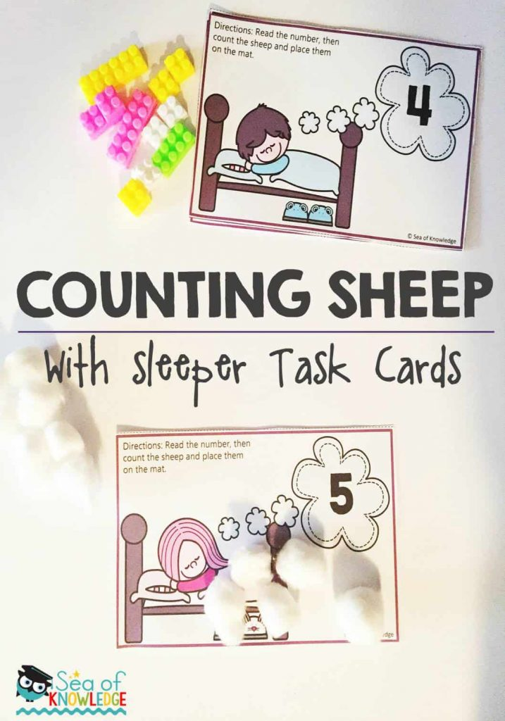 Counting Sheep Activity + Five for Friday 02.09.16