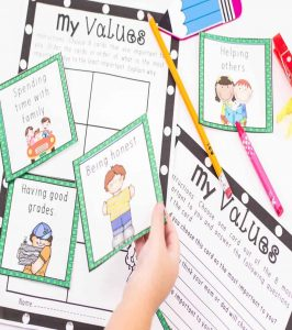 Bundle 44+ Social Skills Activity Pack for Grades K-5