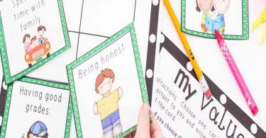 Bundle 44+ Social Skills Activity Pack for Grades K-5