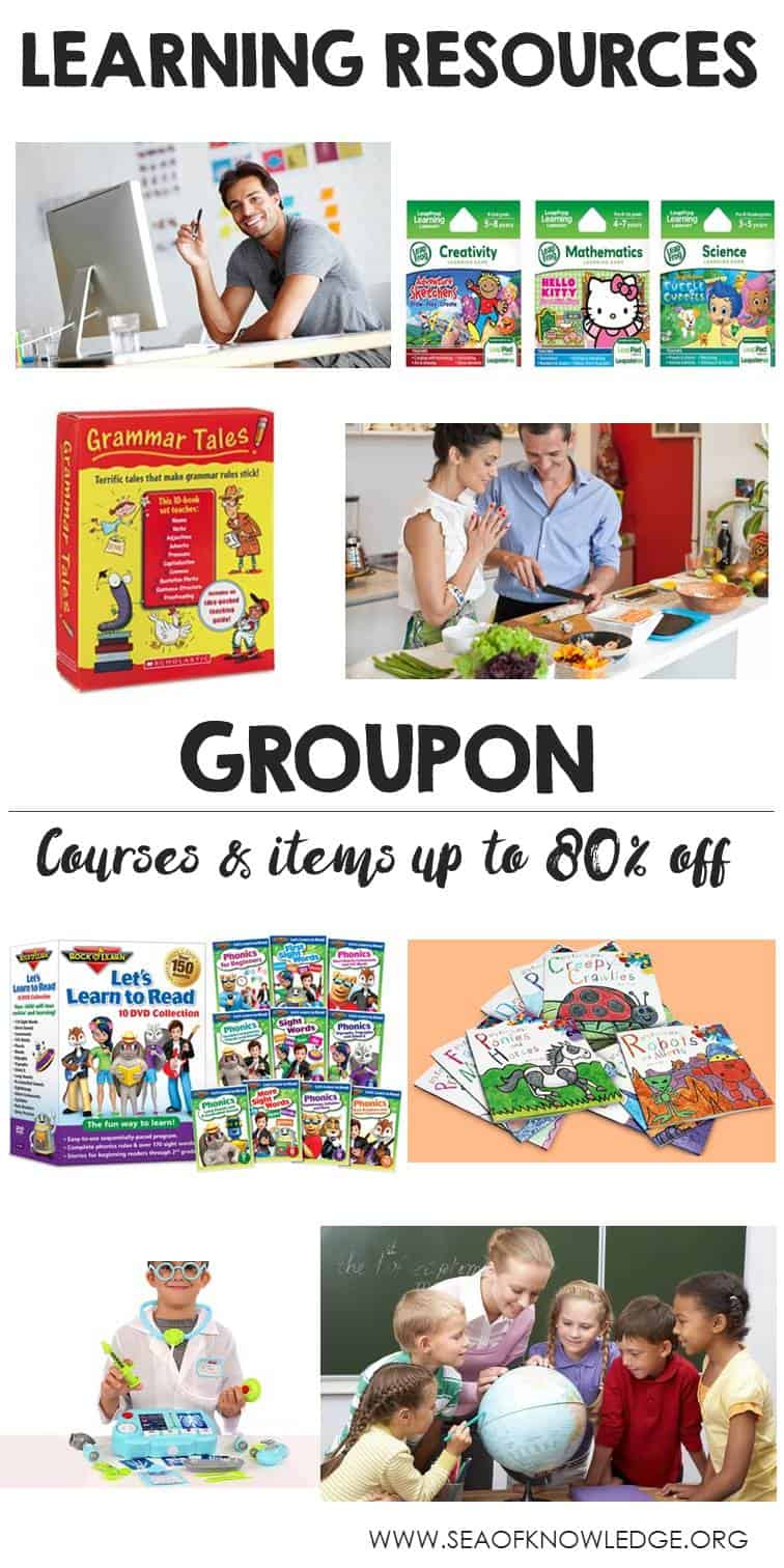 Teaching Resources and Courses up to 80% off with Groupon
