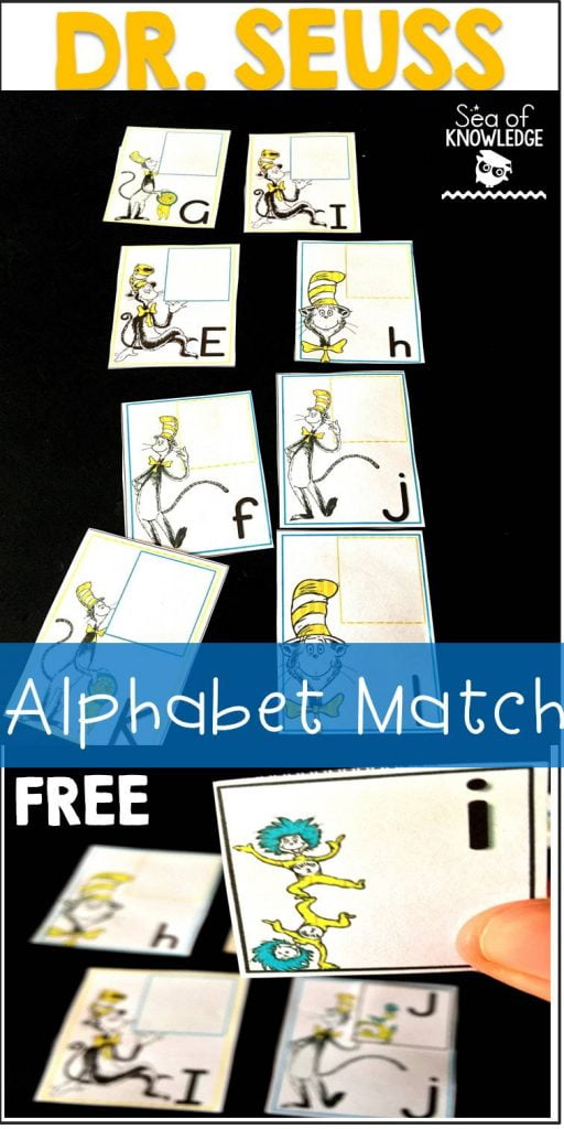 DrSeuss Alphabet Match Free