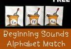 Flower Pot Alphabet Match