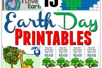 15 Earth Day Printables