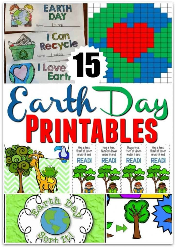 15 Earth Day Printables