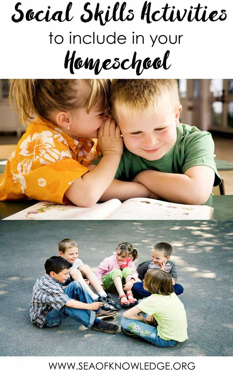 Social Skills to Include in Your Homeschool