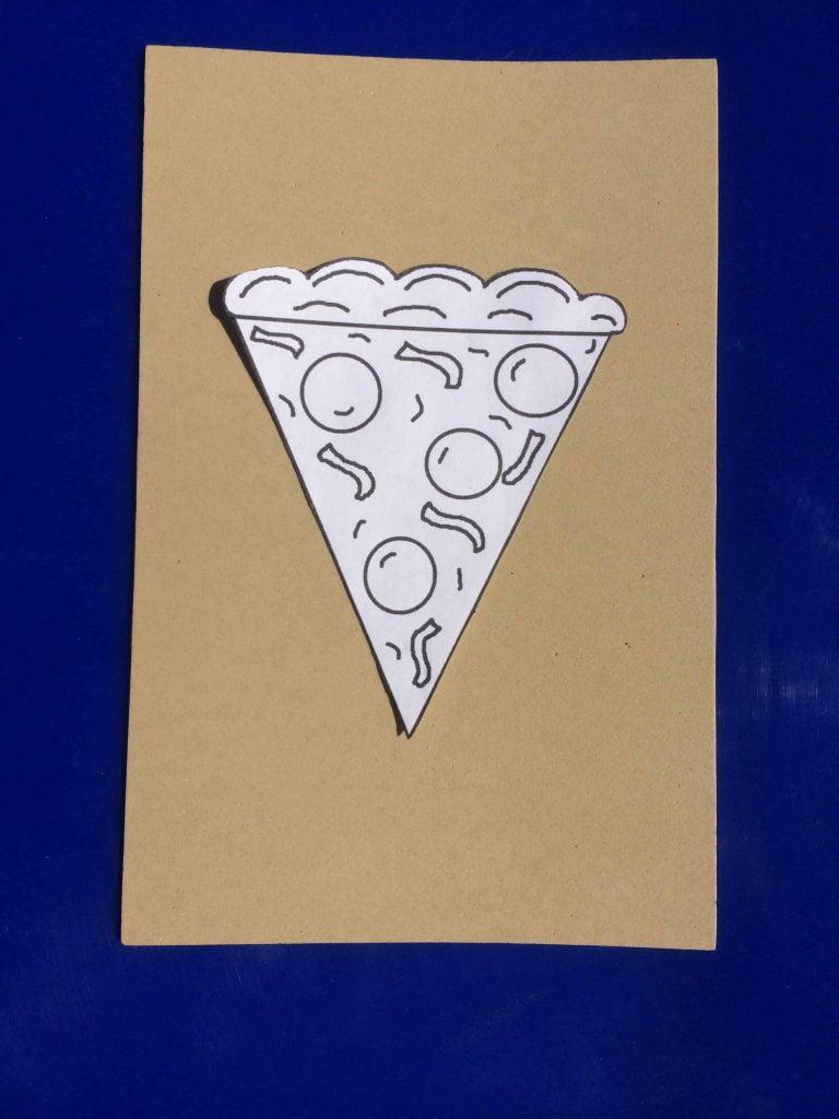 Fathers Day Pizza Craft