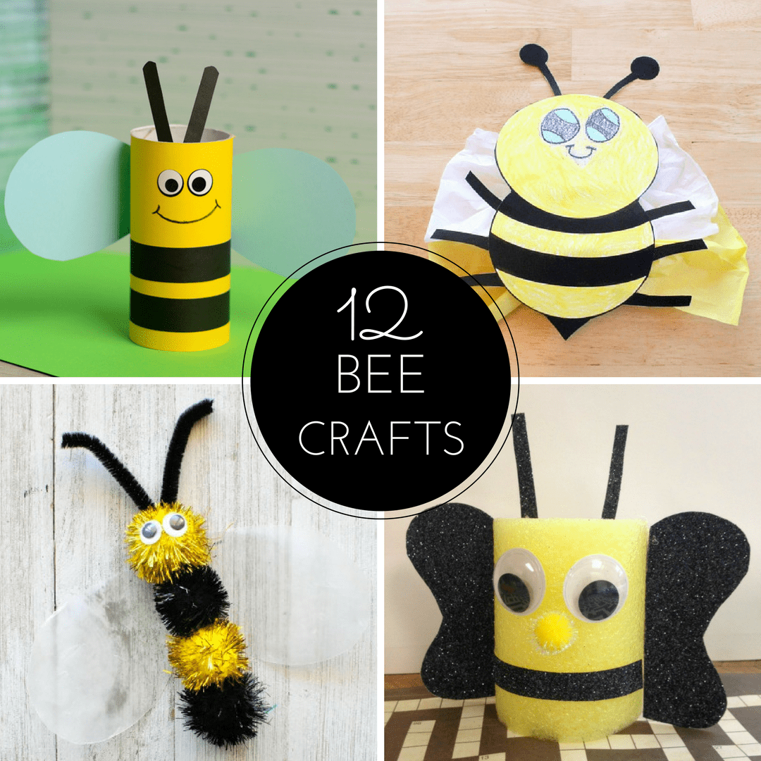 12 Bee Crafts And A Fun Free Printable Sea Of Knowledge