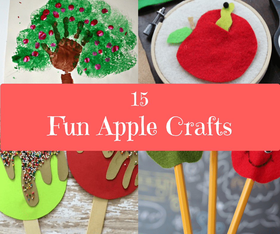 15 Fun Apple Crafts