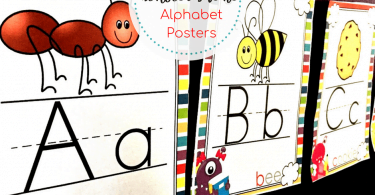 Alphabet posters for classroom free