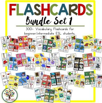 ESL Flashcards Bundle