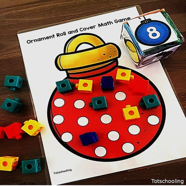 Christmas Counting Games Activities