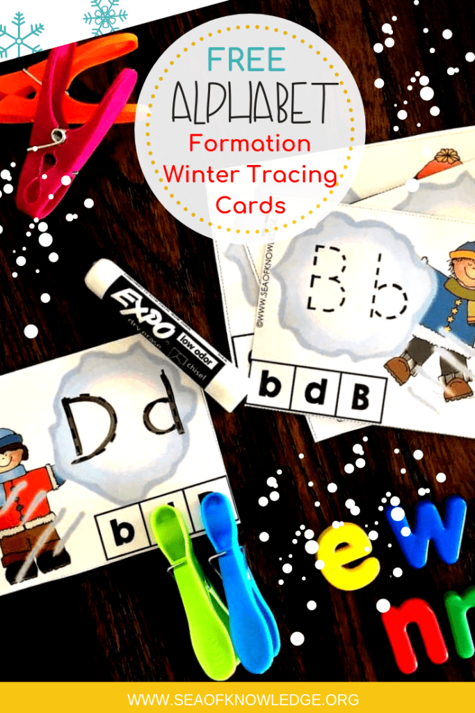 Letter Tracing Activities Winter Theme (1)