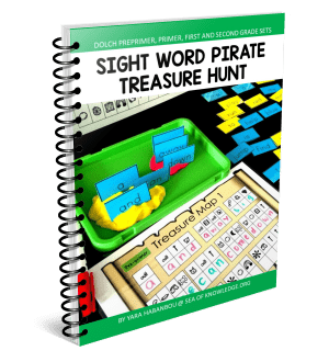 Sight Word Pirate Hunt