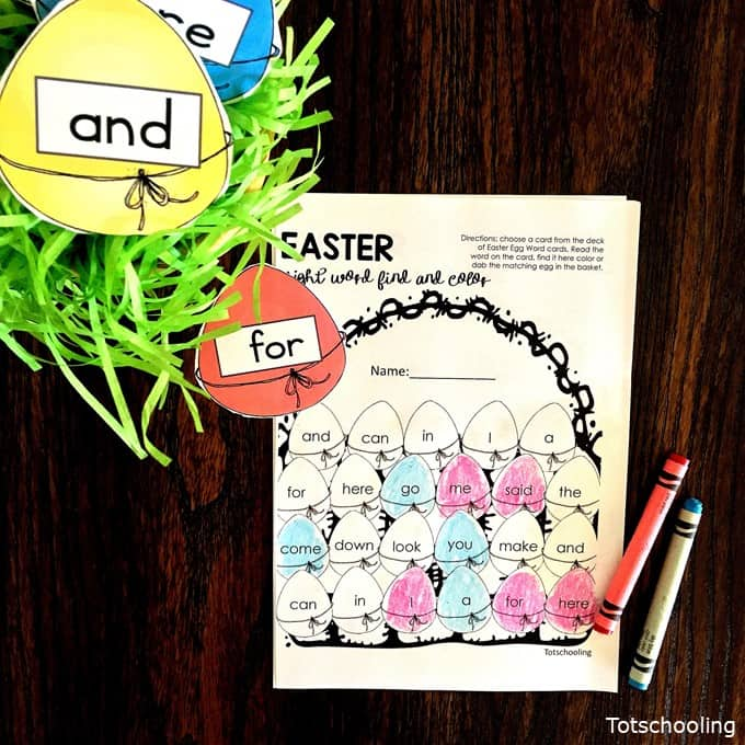 Easter Worksheets Preschool Kindergarten Free