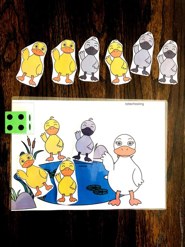 The Ugly Duckling Counting Game