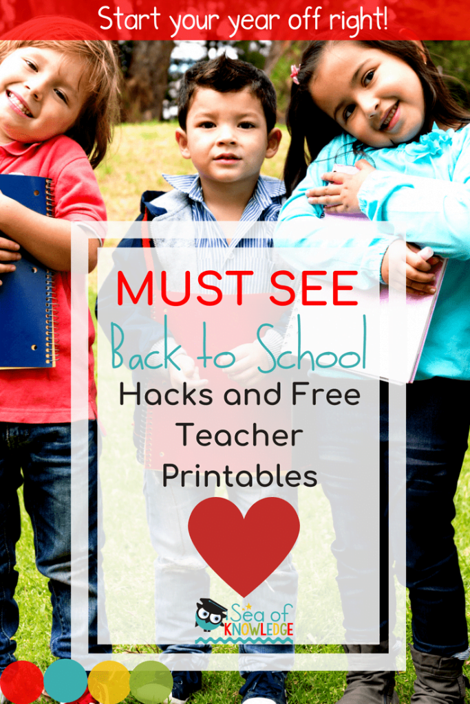 Back to School Ideas and teacher resources