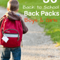 50 Back to School Back Packs Boys and Girls