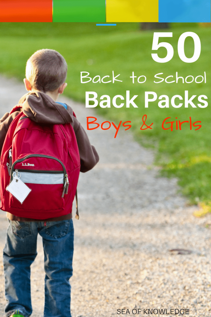 Click to see some great hip and modern back to school backpacks for back to school. Fun, practical and must see backpack ideas in this post!