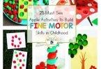 Apple Activities Fine Motor Skills Childhood