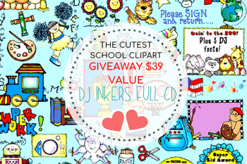 Adorable FREE Back to School Activities Plus DJ Inkers MASSIVE Giveaway