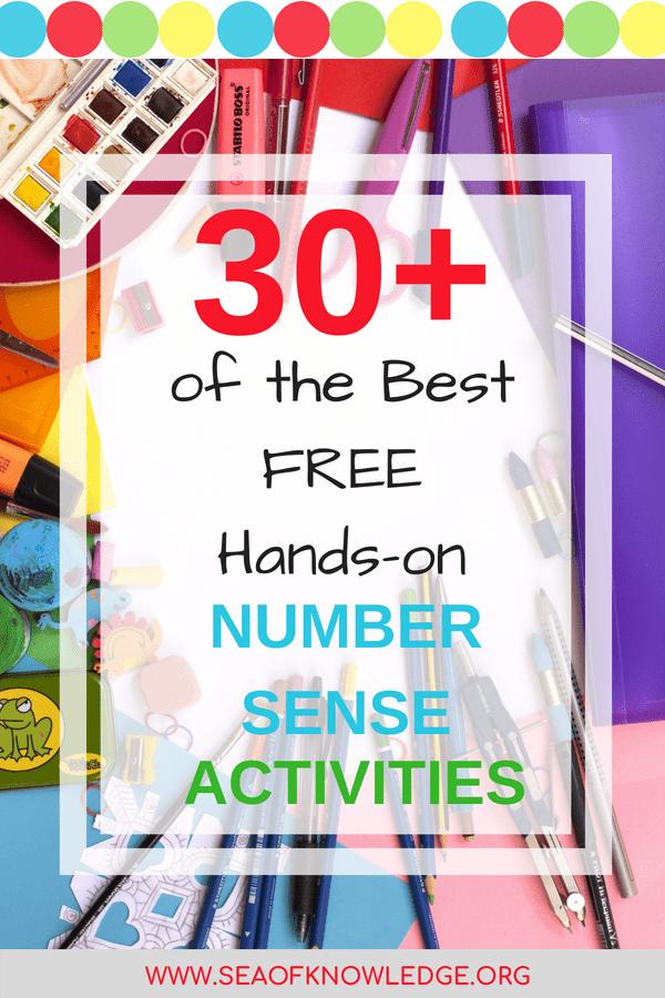 Free Number Sense Activities