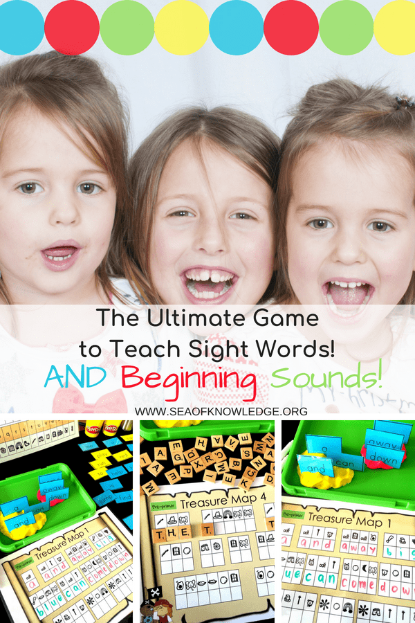 The Ultimate Game to Teach Sight Words!