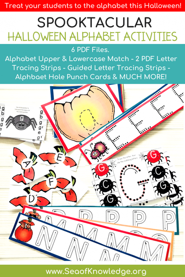 Halloween Alphabet Formation Activities