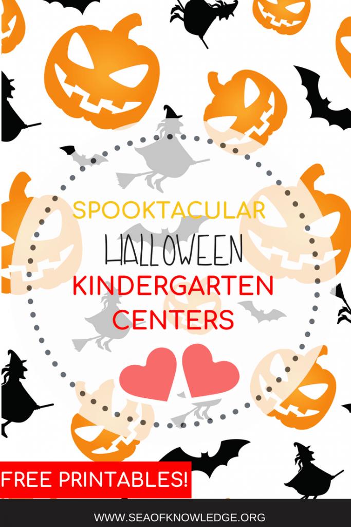 Free kindergarten Halloween Centers (1)