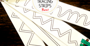 how to improve fine motor skills tracing strips